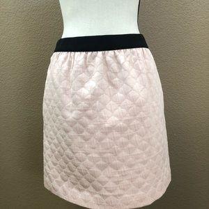 LOFt light pink mini skirt Sz 6P
